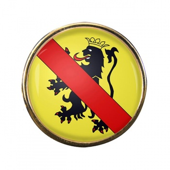 Namur (Belgium) Round Pin Badge