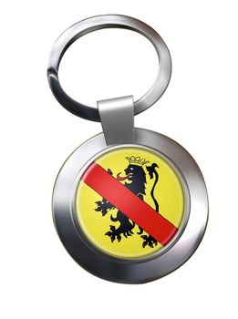 Namur (Belgium) Metal Key Ring