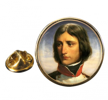 Napoleon Bonaparte 1792 Round Pin Badge