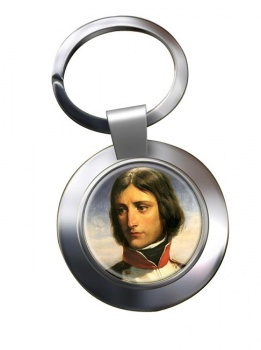 Napoleon Bonaparte 1792 Chrome Key Ring