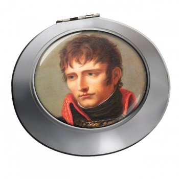 Napoleon Bonaparte 1801 Chrome Mirror