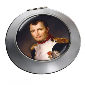 Napoleon Bonaparte 1812 Chrome Mirror