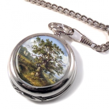Wallace Oak by Jane Nasmyth Pocket Watch