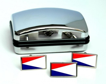 Natal (South Africa) Flag Cufflink and Tie Pin Set
