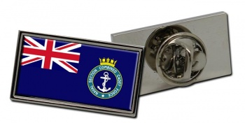 Naval Section Combined Cadet Force Rectangle Tie Pin