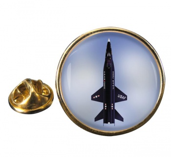North American X-15 Round Lapel