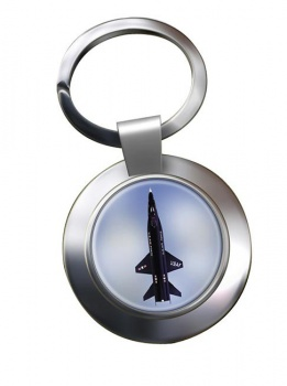 North American X-15 Chrome Key Ring