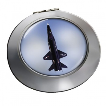 North American X-15 Chrome Mirror
