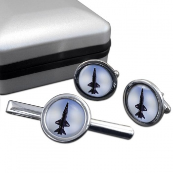 North American X-15 Cufflink and Tie Clip Set