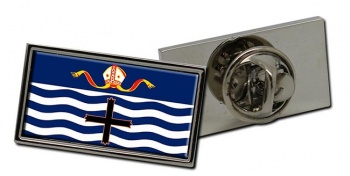 Nelson (New Zealand) Flag Pin Badge