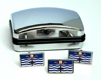 Nelson (New Zealand) Flag Cufflink and Tie Pin Set