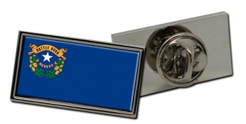 Nevada  Flag Pin Badge