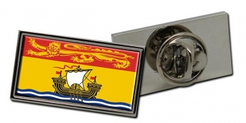 New Brunswick (Canada) Flag Pin Badge