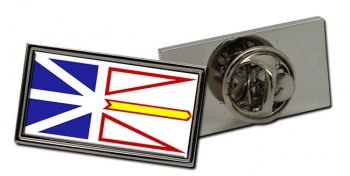 Newfoundland and Labrador (Canada) Flag Pin Badge