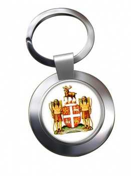 Newfoundland and Labrador (Canada) Metal Key Ring