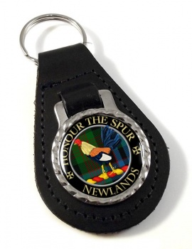 Newlands Scottish Clan Leather Key Fob