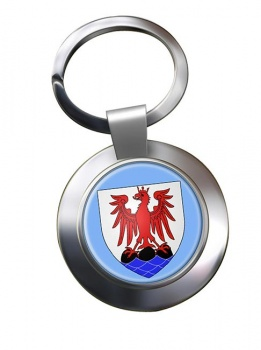 Nice (France) Metal Key Ring