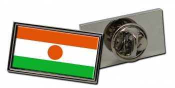 Niger Flag Pin Badge