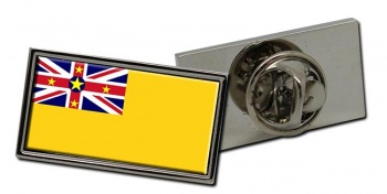 Niue (New Zealand) Flag Pin Badge