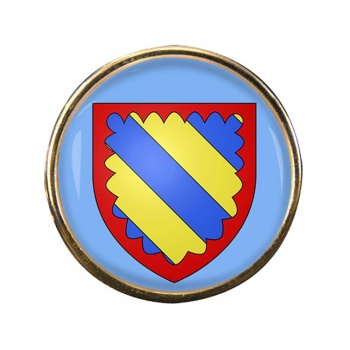 Nivernais (France) Round Pin Badge