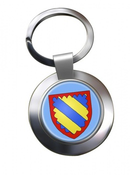 Nivernais (France) Metal Key Ring