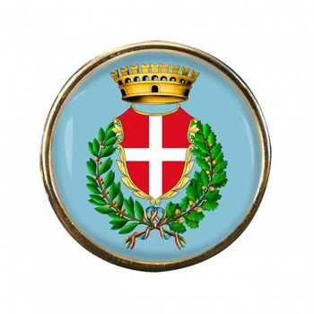 Noli (Italy) Round Pin Badge