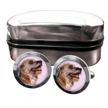 Norfolk Terrier  Round Cufflinks