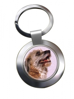 Norfolk Terrier Metal Key Ring