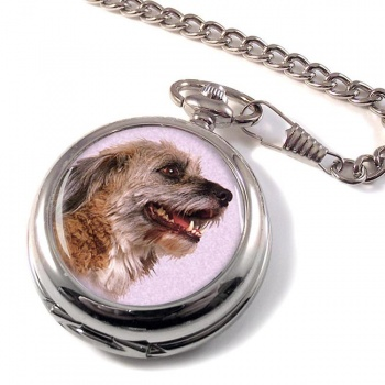 Norfolk Terrier Pocket Watch