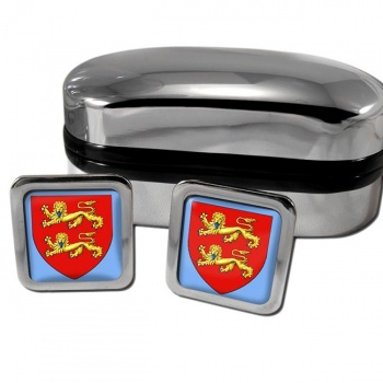 Normandie France Square Cufflinks