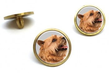 Norwich Terrier  Golf Ball Marker Set