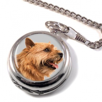 Norwich Terrier Pocket Watch