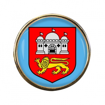 Norwich (England) Round Pin Badge