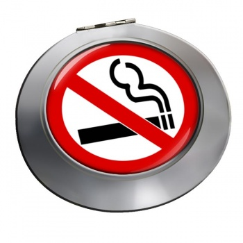 No Smoking Chrome Mirror
