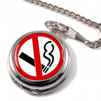 No Smoking Pocket Watch