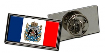 Novgorod Oblast Flag Pin Badge