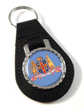 New South Wales, Coat of Arms  Leather Key Fob