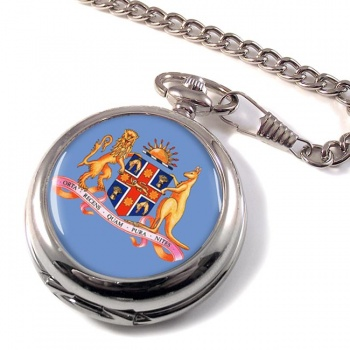 New South Wales, Coat of Arms  Pocket Watch