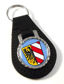 Nurnberg Nuremberg (Germany) Leather Key Fob
