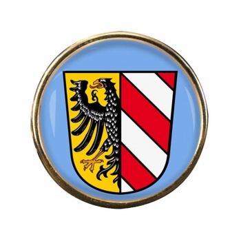 Nurnberg Nuremberg (Germany) Round Pin Badge