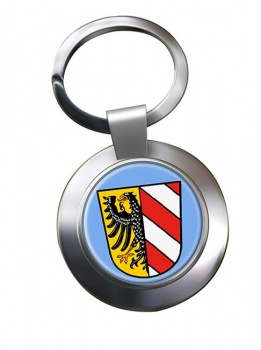Nurnberg Nuremberg (Germany) Metal Key Ring