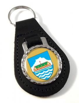 Nuuk Godthab Leather Key Fob
