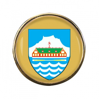 Nuuk Godthab Round Pin Badge