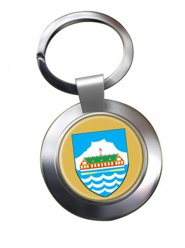 Nuuk Godthab Metal Key Ring