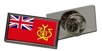 North Wales and North West Sea Fisheries Ensign Rectangle Tie Pin