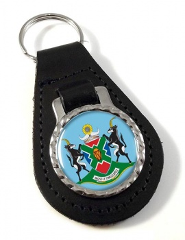 North West (South Africa) Leather Key Fob