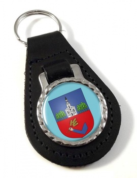 Nyiregyhaza Leather Key Fob