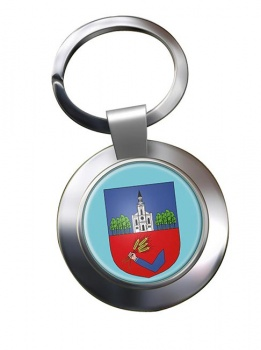 Nyiregyhaza Metal Key Ring