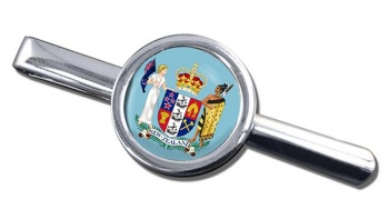 Coat of Arms (New Zealand) Round Tie Clip
