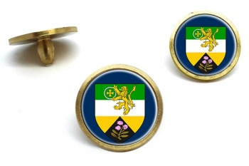 County Offaly (Ireland) Golf Ball Marker